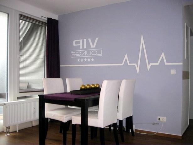 esszimmer gestalten w nde. Black Bedroom Furniture Sets. Home Design Ideas
