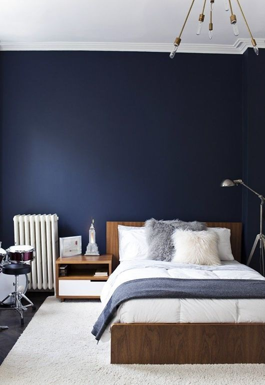 farbe wand schlafzimmer. Black Bedroom Furniture Sets. Home Design Ideas