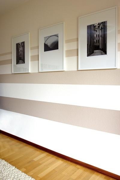Farbliche Wandgestaltung Beispiele: Farbgestaltung Wände Beispiele