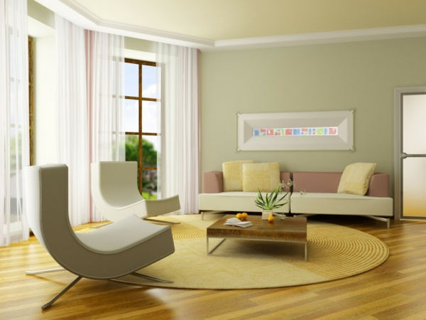 Farbideen wohnzimmer wände
