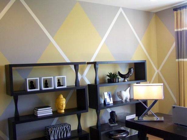farbige wandgestaltung wohnzimmer. Black Bedroom Furniture Sets. Home Design Ideas