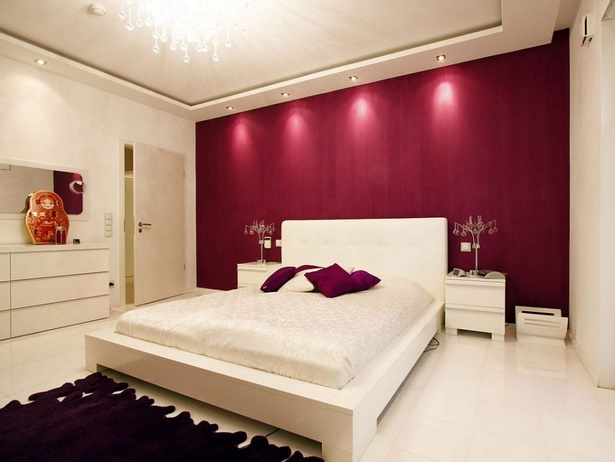 farbkombinationen schlafzimmer wand