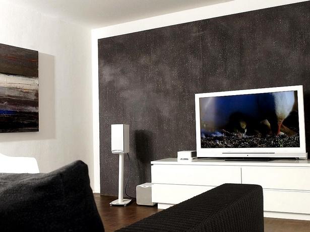 Farbliche wandgestaltung wohnzimmer