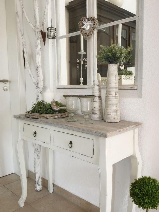 Flur deko ideen - Fensterbank dekoration landhausstil ...