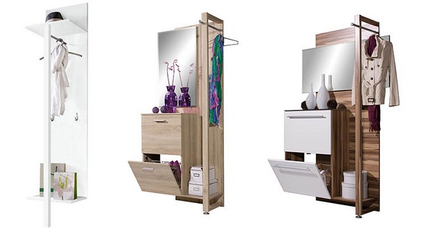 garderobe f r kleinen flur. Black Bedroom Furniture Sets. Home Design Ideas