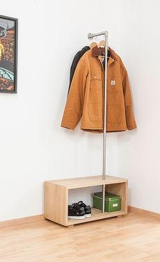 garderobe f r kleinen flur. Black Bedroom Furniture Sets. Home Design Ideas
