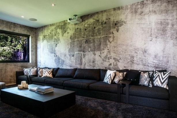 Gestaltung wand wohnzimmer
