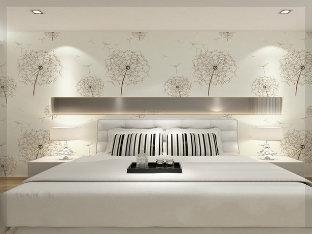 ideen f r schlafzimmer tapeten. Black Bedroom Furniture Sets. Home Design Ideas