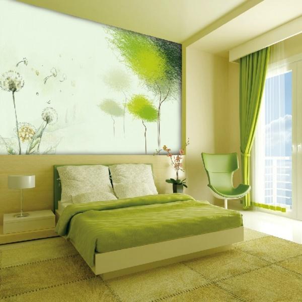 ideen mit tapeten. Black Bedroom Furniture Sets. Home Design Ideas