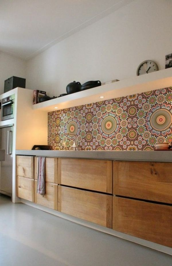 Ideen wandgestaltung küche