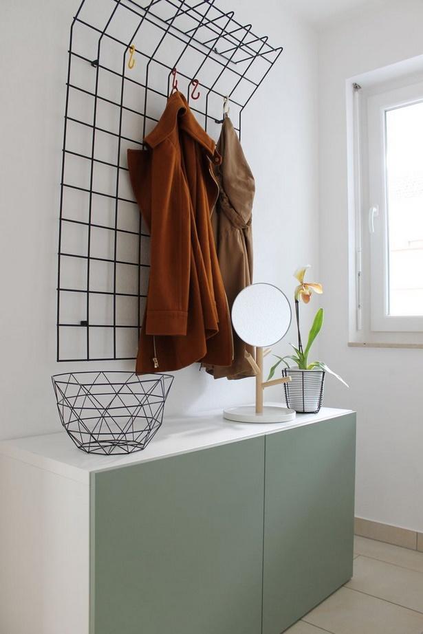 kleiner flur garderobe. Black Bedroom Furniture Sets. Home Design Ideas