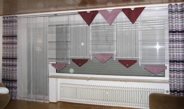 Kreative gardinen ideen for Gardinen ka che landhausstil