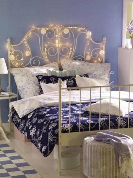 Lichterketten deko ideen schlafzimmer for Zimmerdeko lichterkette