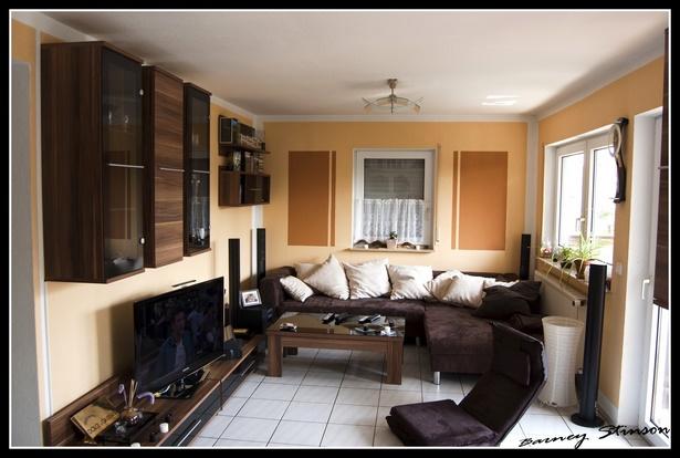 Moderne wohnzimmer wand