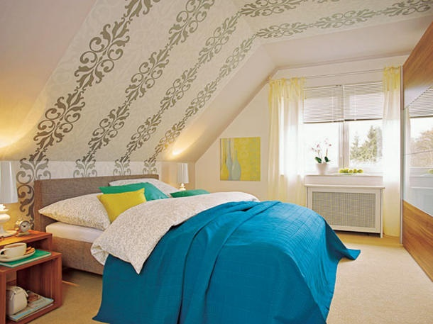 Raumgestaltung Farbe Dachschr Ge