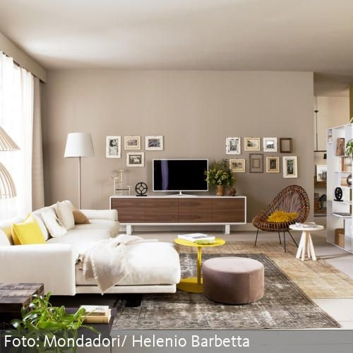 raumgestaltung wohnzimmer farbe. Black Bedroom Furniture Sets. Home Design Ideas