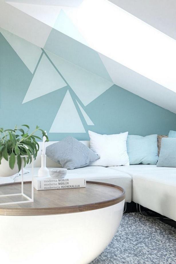 Raumgestaltung wohnzimmer farbe