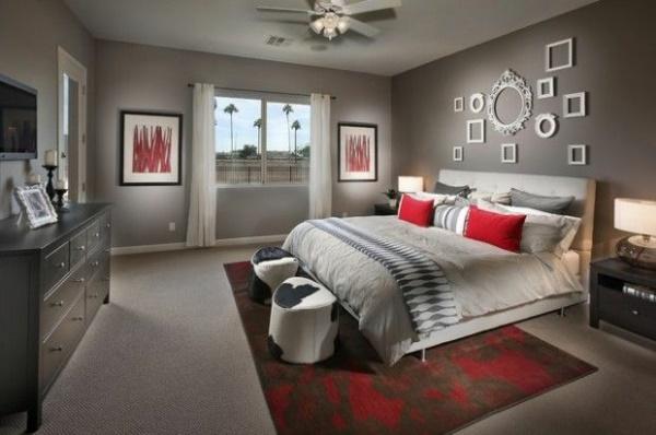 Mehr: Schlafzimmer Graues Bett