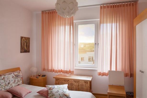 Schlafzimmer gardinen deko - Vorhang fur schrage wande ...