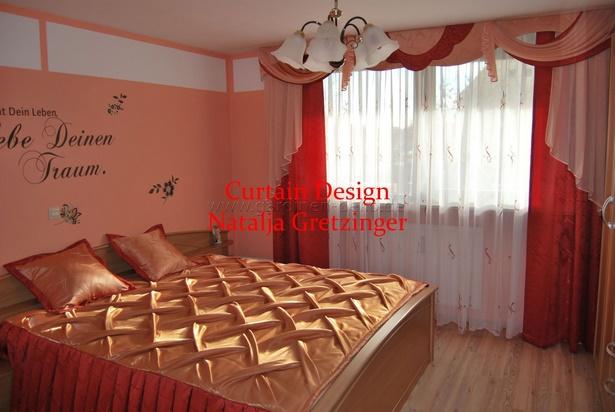 Einfach Schlafzimmer Deko ~ Schlafzimmer gardinen deko