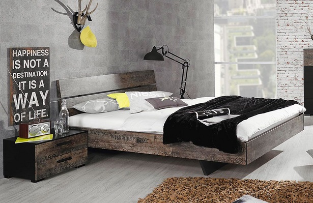 Schlafzimmer vintage gestalten - Designer schlafzimmermobel ...