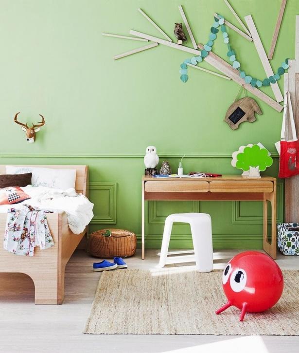 Wandbemalung ideen - Kinderzimmer wandbemalung ...