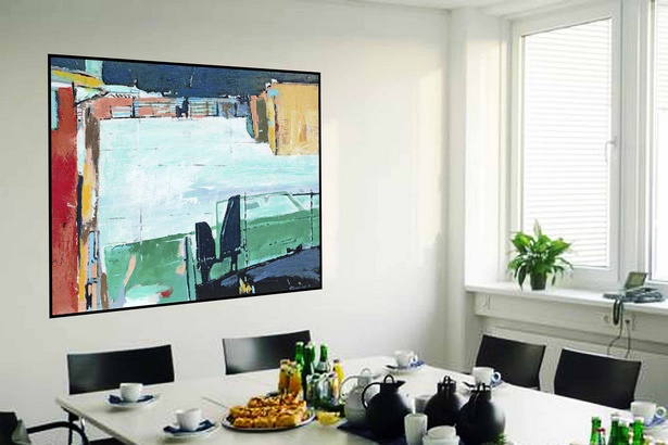wandgestaltung b ro. Black Bedroom Furniture Sets. Home Design Ideas