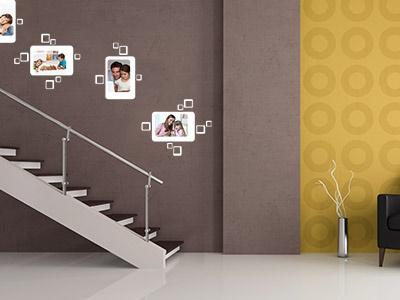 wandgestaltung flur beispiele. Black Bedroom Furniture Sets. Home Design Ideas