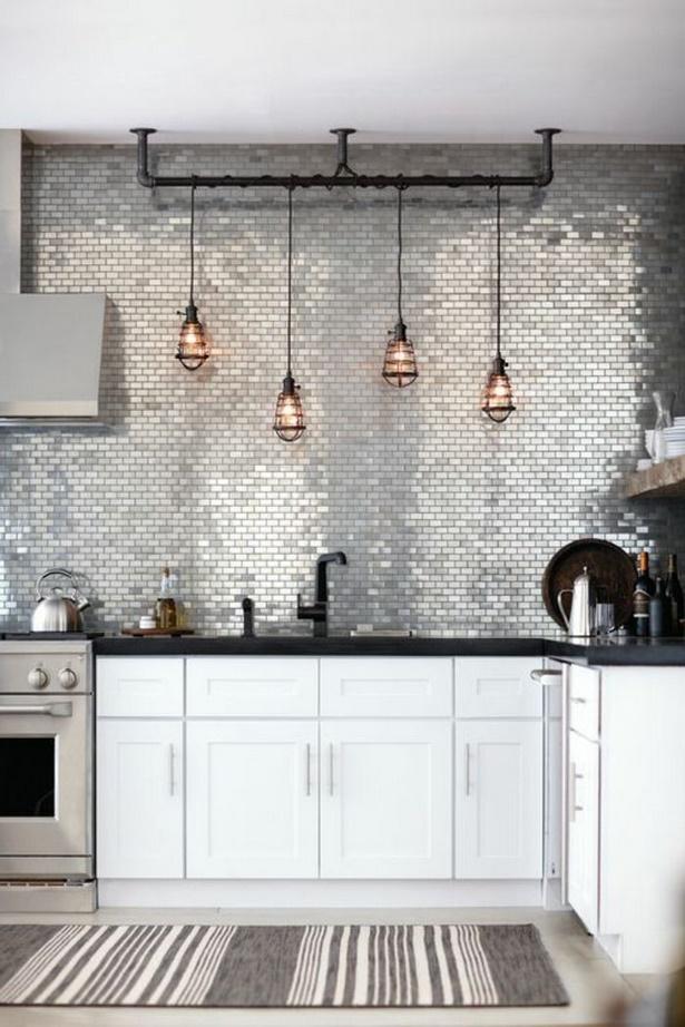 Wandgestaltung küche beispiele