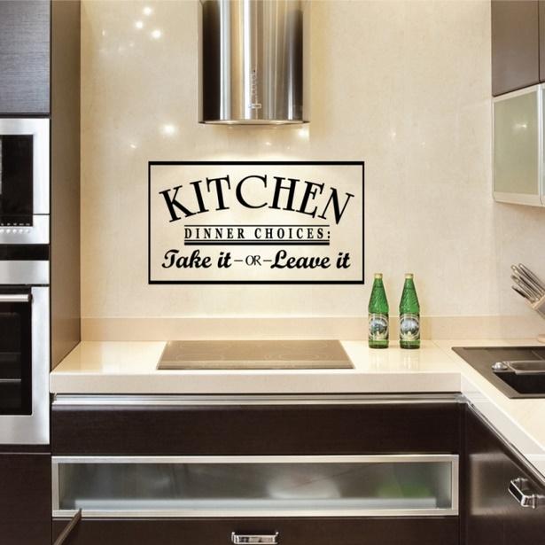 Wandgestaltung küche bilder