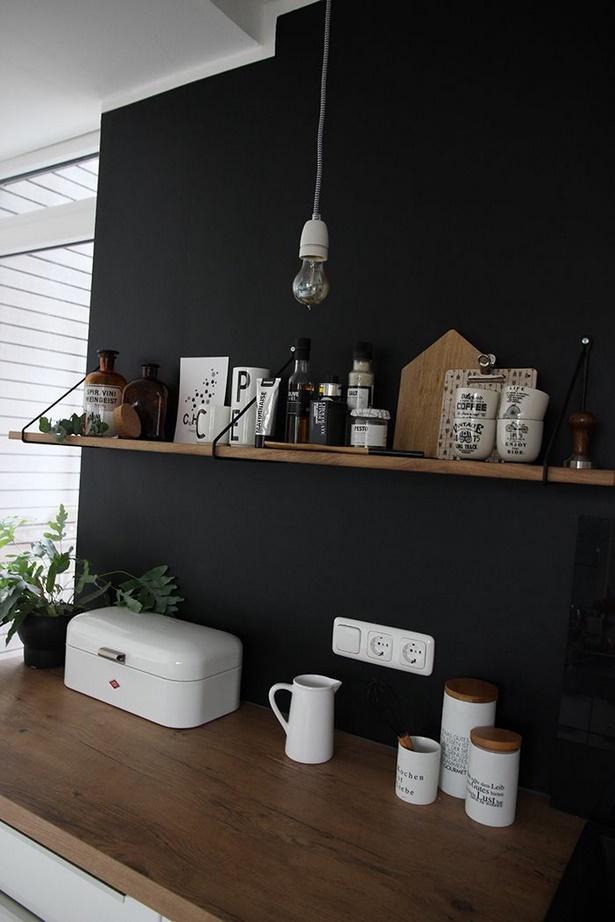 Wandgestaltung küche tapete