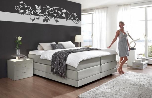 Wandgestaltung Schlafzimmer Farbe : Wandgestaltung schlafzimmer farbe