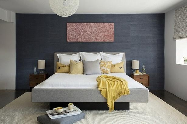 Nach Hinten Wandgestaltung Schlafzimmer Farbe Wandfarbe Brauntöne 3