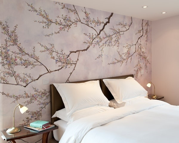 wandgestaltung schlafzimmer vliestapete. Black Bedroom Furniture Sets. Home Design Ideas
