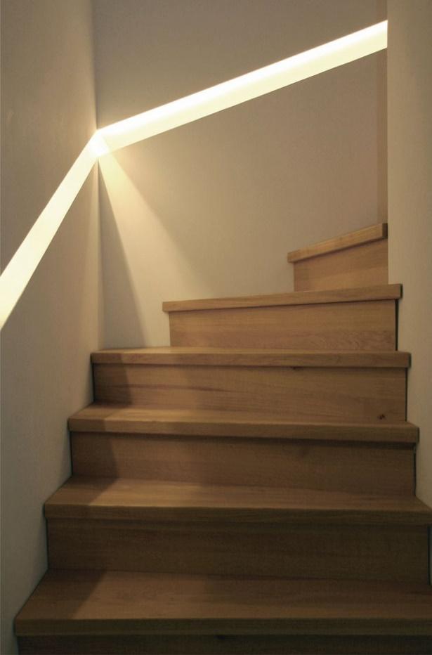 Wandgestaltung treppenhaus
