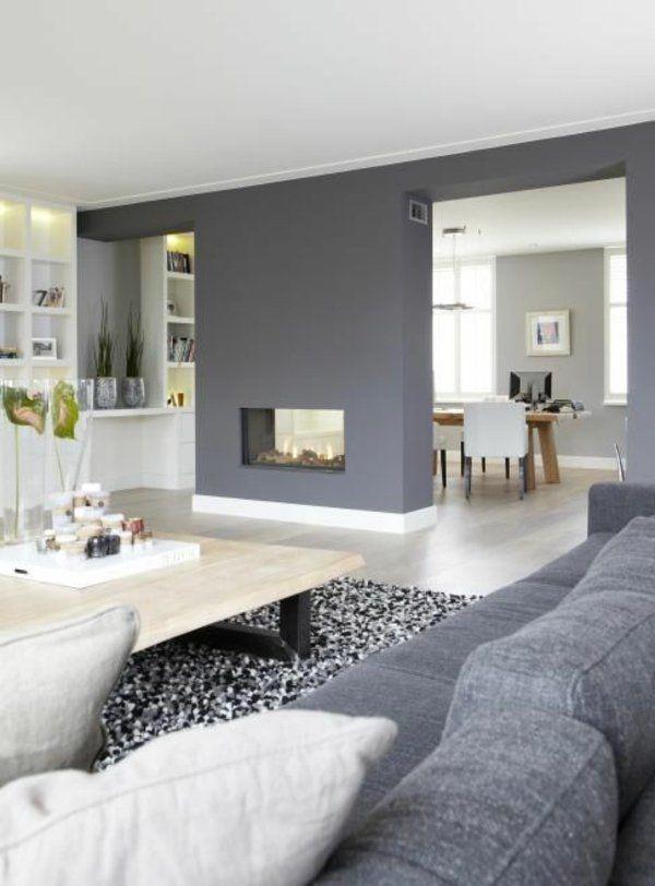wandgestaltung wohnzimmer farbe. Black Bedroom Furniture Sets. Home Design Ideas