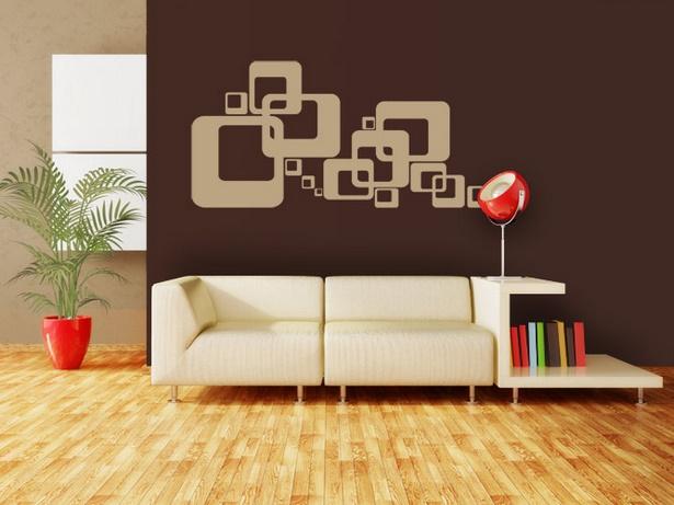 wandgestaltung wohnzimmer mit farbe - Wohnzimmer Wandgestaltung Farbe