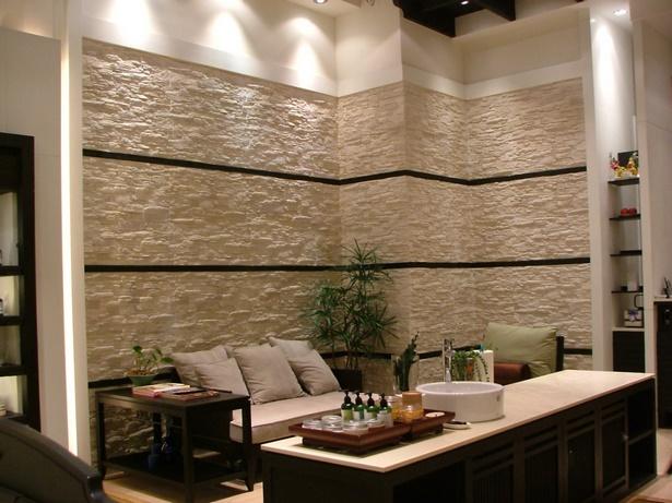 Wandgestaltung wohnzimmer steinoptik - Wandfliesen steinoptik wohnzimmer ...