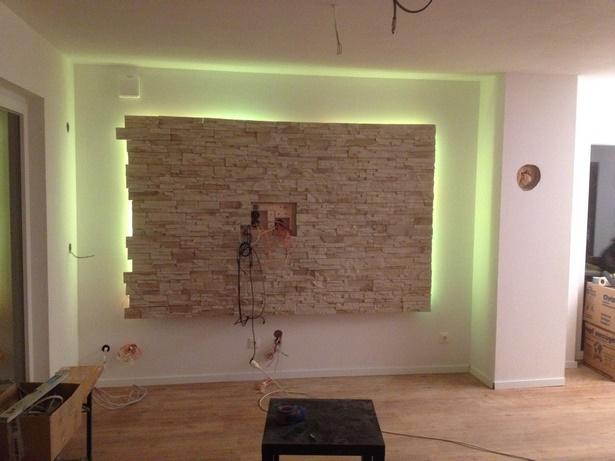 wandgestaltung wohnzimmer steinoptik. Black Bedroom Furniture Sets. Home Design Ideas