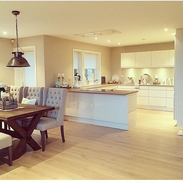Wohnküche wohnzimmer ideen