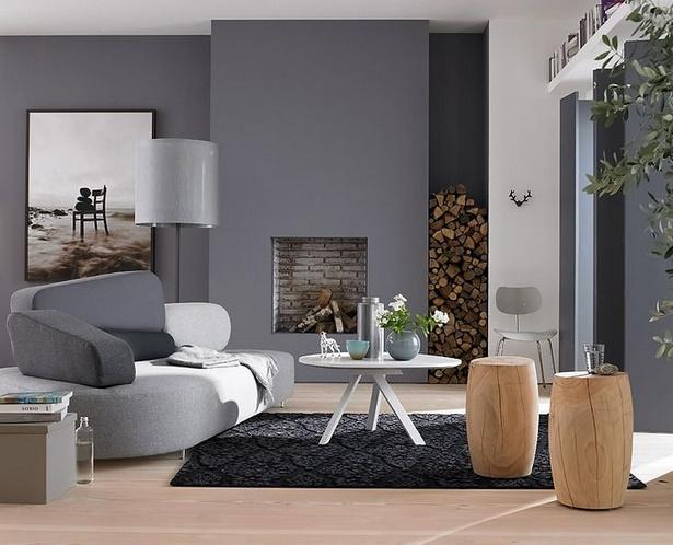Wohnzimmer streichen modern