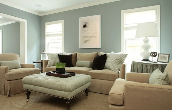 Wohnzimmer wandfarben beispiele