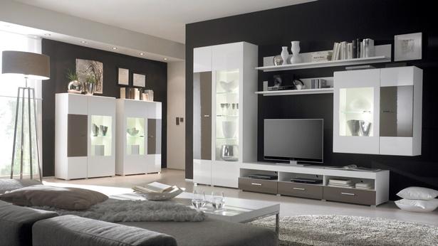 wohnzimmergestaltung tapeten. Black Bedroom Furniture Sets. Home Design Ideas
