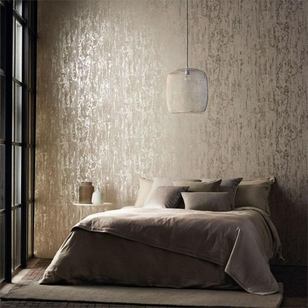 Tapeten Mehr 12 Ideen Zur Wandgestaltung Im Schlafzimmer: Zimmer Tapezieren Ideen