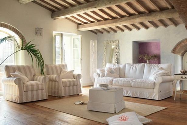 Einrichtungsideen wohnzimmer landhausstil