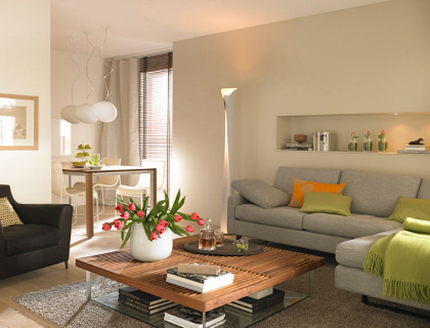 Wohnzimmer mit esszimmer einrichten