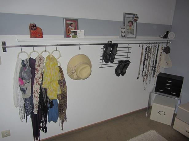 Garderobe Ideen Wenig Platz