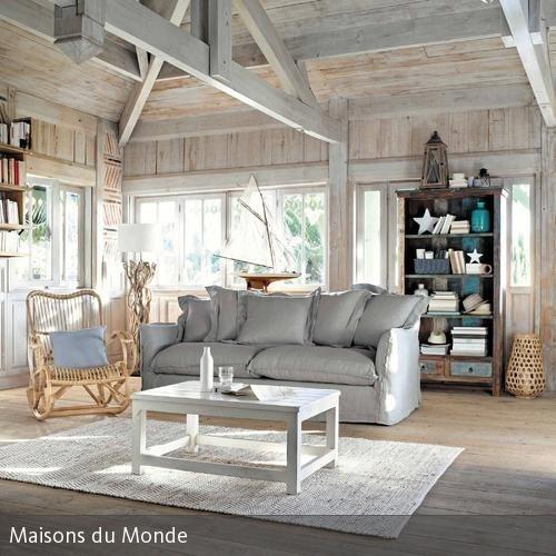 Maritime Einrichtung Wohnzimmer