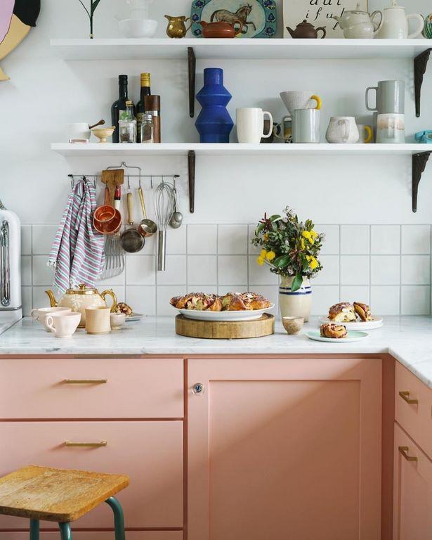 deko für küchenschrank