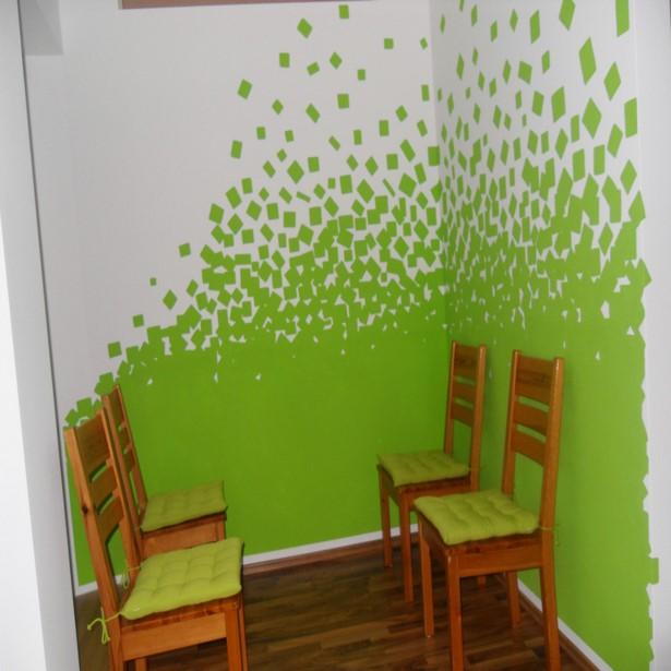 Wände Farbig Streichen: Wände Selber Streichen Ideen